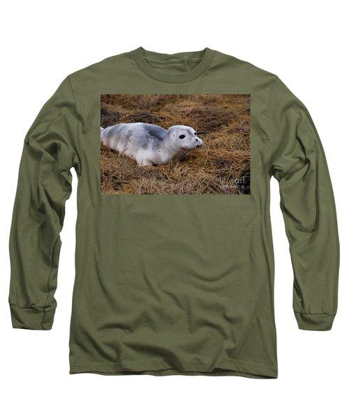 Seal Pup Long Sleeve T-Shirt by DejaVu Designs