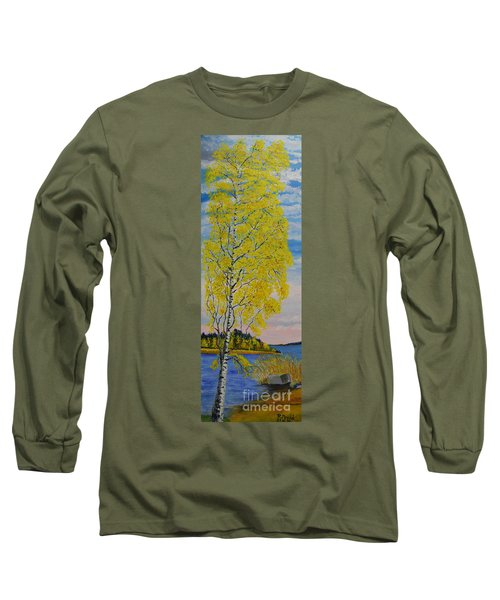 Seascape From Baltic Sea Long Sleeve T-Shirt