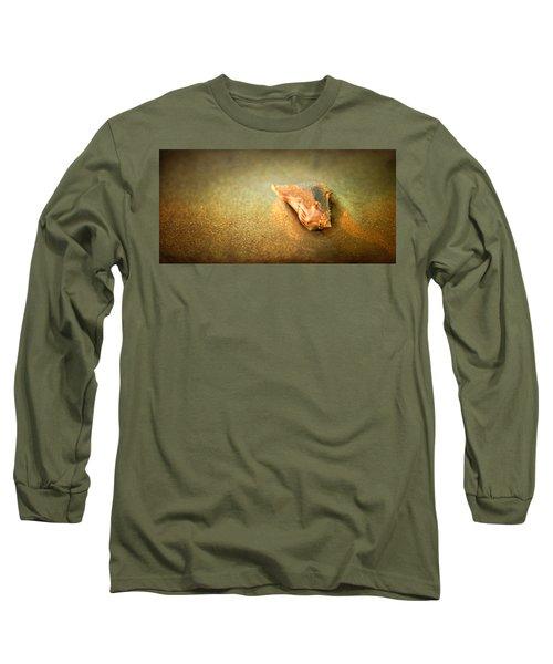 Long Sleeve T-Shirt featuring the photograph Seashell by Joye Ardyn Durham