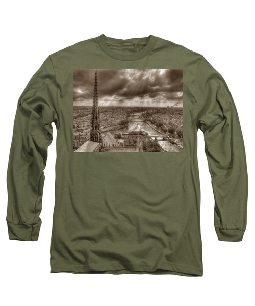 Seine From Notre Dame Long Sleeve T-Shirt