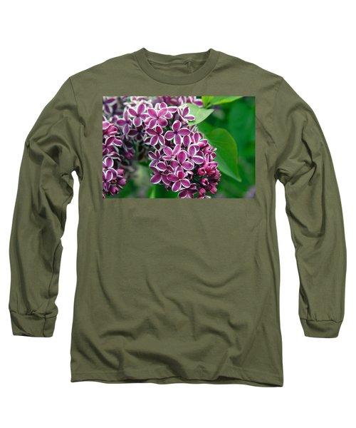 Sensation Lilac Long Sleeve T-Shirt by Richard Engelbrecht