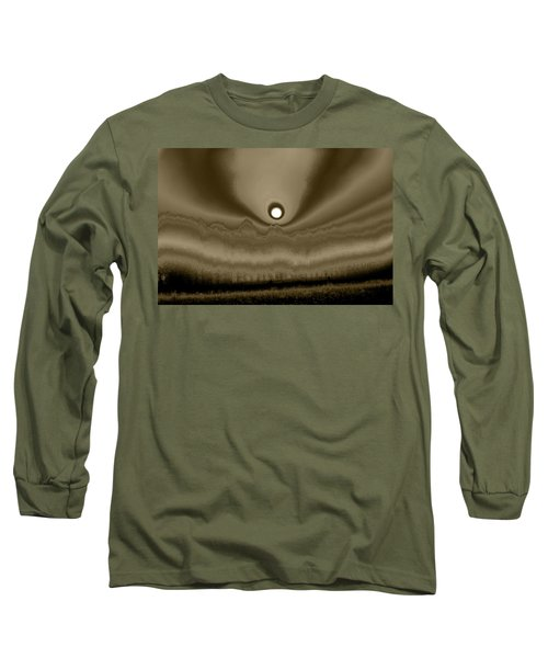 Sepia Sunrise Long Sleeve T-Shirt