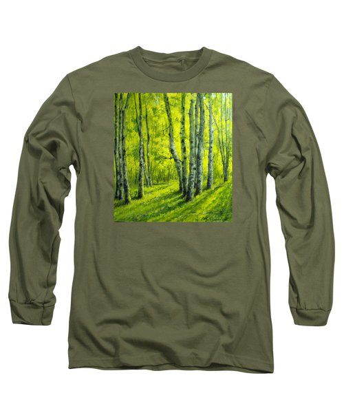 September In The Woods Long Sleeve T-Shirt