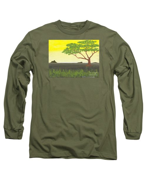 Serengeti Long Sleeve T-Shirt by David Jackson