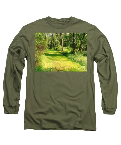 Long Sleeve T-Shirt featuring the photograph Serenity by Becky Lupe