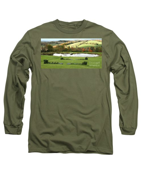 Long Sleeve T-Shirt featuring the photograph Serenity Hill by Carol Lynn Coronios