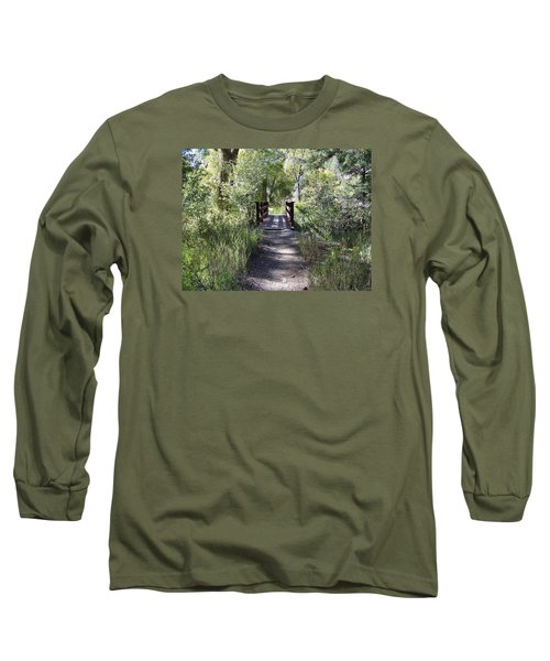 Serenity Long Sleeve T-Shirt by Sheri Keith