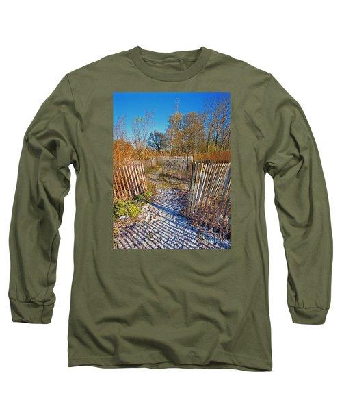 Serenity Trail.... Long Sleeve T-Shirt by Nina Stavlund