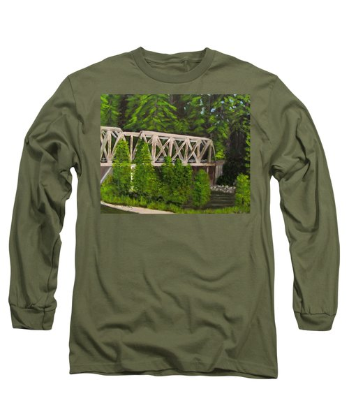 Sewalls Falls Bridge Long Sleeve T-Shirt