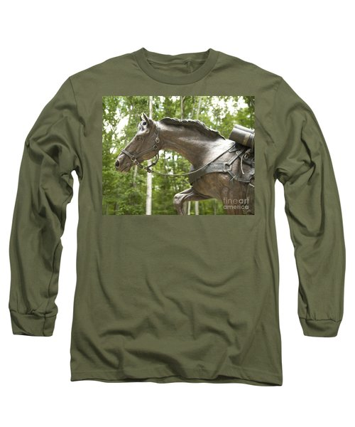 Sgt Reckless Long Sleeve T-Shirt by Carol Lynn Coronios