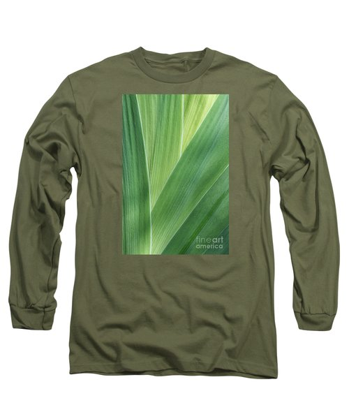 Long Sleeve T-Shirt featuring the photograph Shades Of Green #2 by Judy Whitton