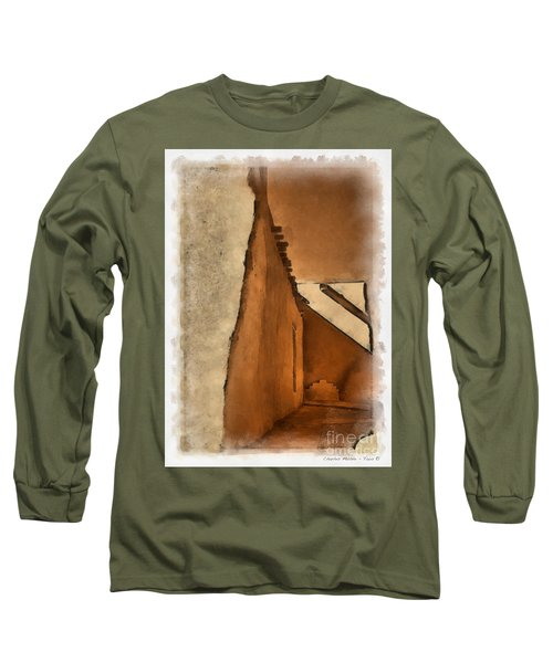 Shadows In Aquarell   Long Sleeve T-Shirt