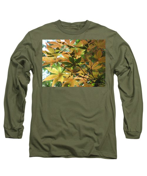 Shadows Of Maple  Long Sleeve T-Shirt