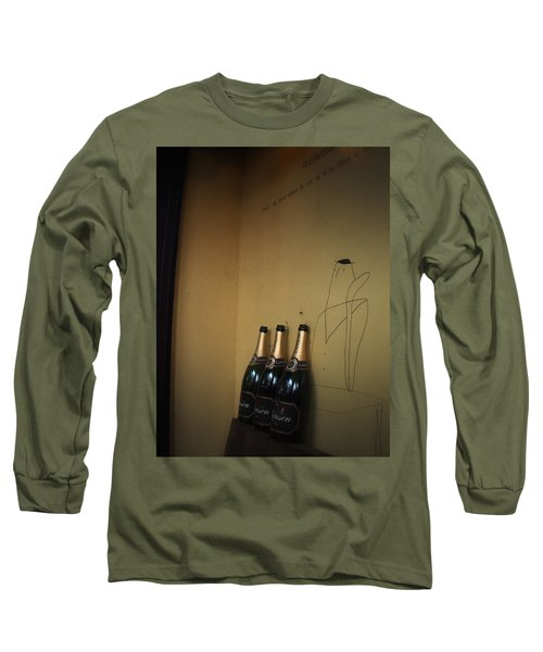 Shadows Long Sleeve T-Shirt by Rachel Mirror