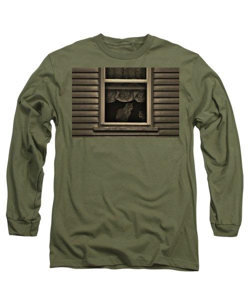 Shared Silence Long Sleeve T-Shirt by Robert Geary