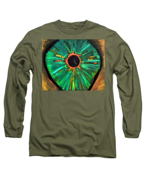 She Sees The Truth Long Sleeve T-Shirt by Lisa Brandel