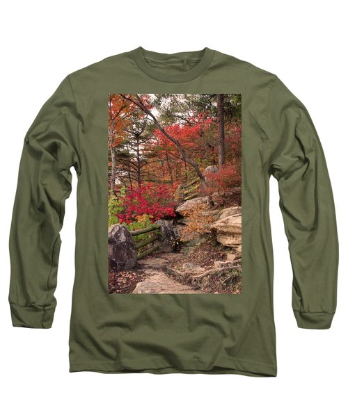 Shifting Colors Long Sleeve T-Shirt