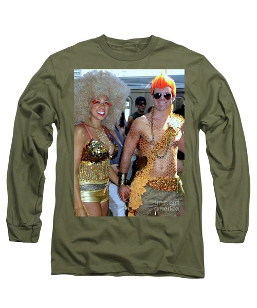 Long Sleeve T-Shirt featuring the photograph Shiny Happy People by Ed Weidman