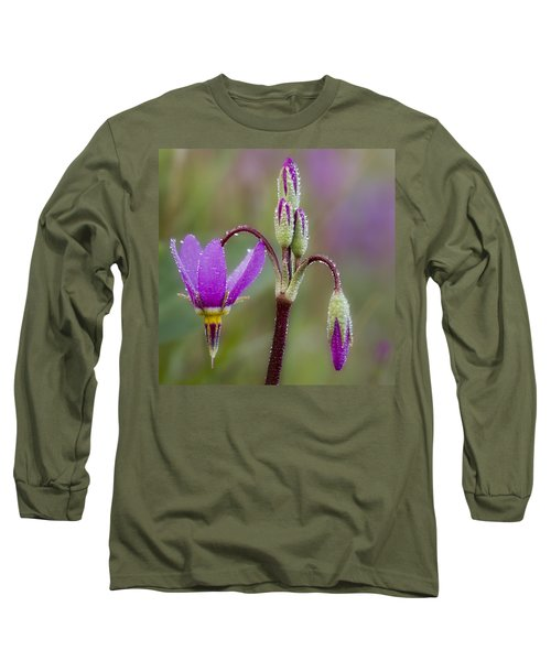 Long Sleeve T-Shirt featuring the photograph Shooting Stars Square by Sonya Lang