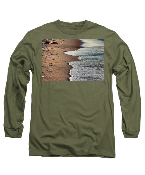 Shore Long Sleeve T-Shirt by Bruce Patrick Smith