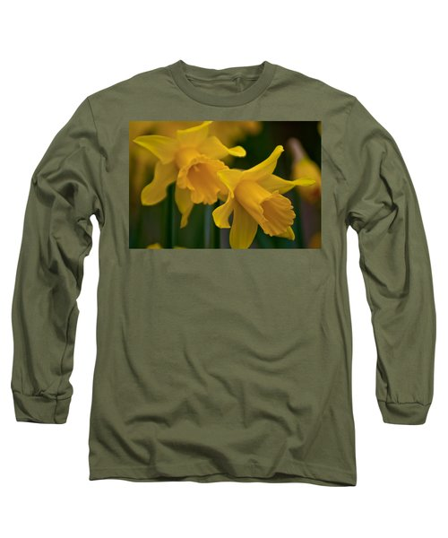 Shout Out Of Spring Long Sleeve T-Shirt