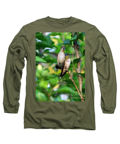 Showing Off Long Sleeve T-Shirt