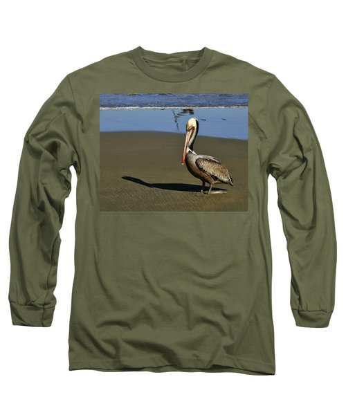 Shy Pelican Long Sleeve T-Shirt