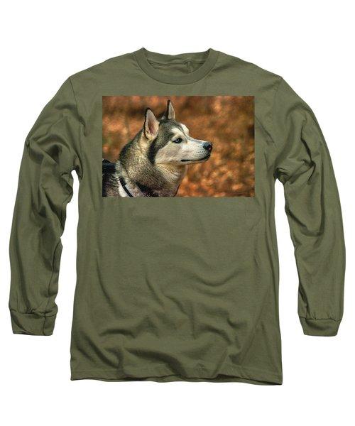 Siberian Husky Long Sleeve T-Shirt