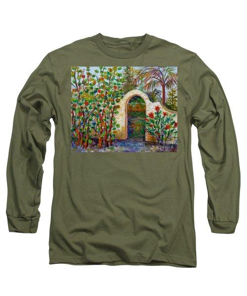 Siesta Key Archway Long Sleeve T-Shirt by Lou Ann Bagnall