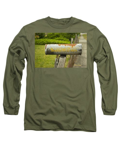 Sign Of The Times Seattle Times Long Sleeve T-Shirt by Cathy Anderson
