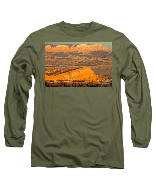 Sinking Ship Sunset Point Bryce Canyon National Park Long Sleeve T-Shirt