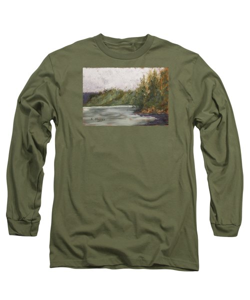 Sitka Mist Long Sleeve T-Shirt by Alan Mager