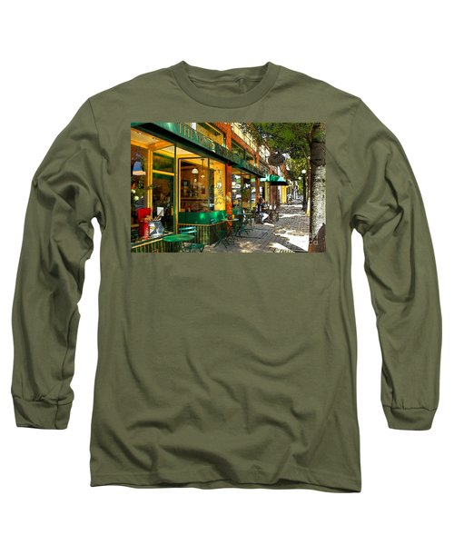 Sitting At The Bakery Long Sleeve T-Shirt