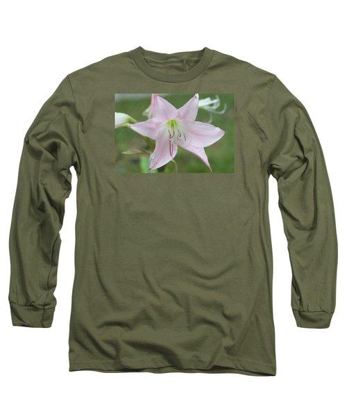 Six Point Flower Long Sleeve T-Shirt
