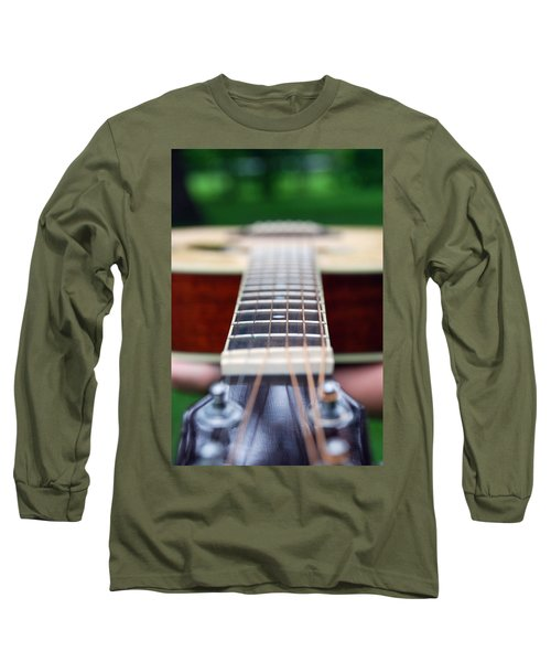 Six String Music Long Sleeve T-Shirt