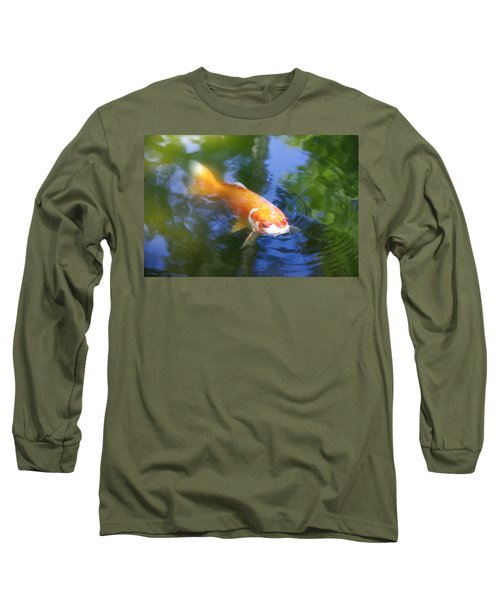 Skimming The Surface Long Sleeve T-Shirt