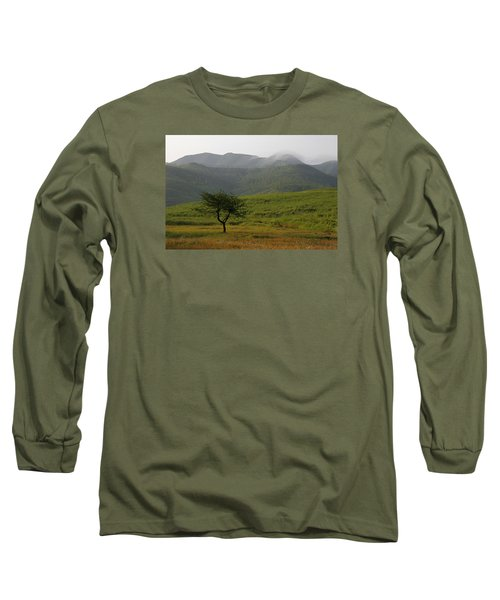 Long Sleeve T-Shirt featuring the photograph Skc 0053 A Solitary Tree by Sunil Kapadia