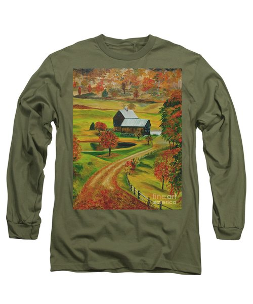 Sleepy Hollow Farm Long Sleeve T-Shirt