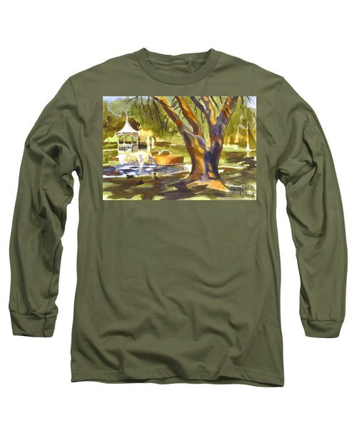 Sleepy Summers Morning Long Sleeve T-Shirt