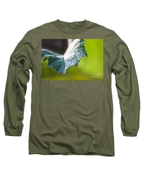 Slice Of Leaf Long Sleeve T-Shirt