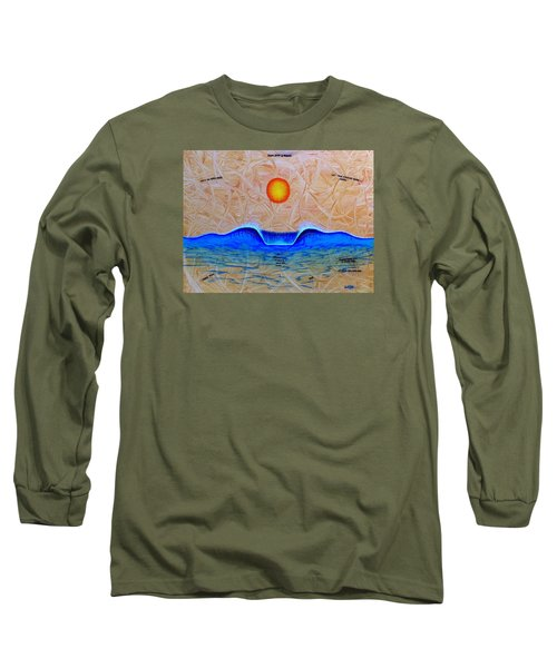 Slow Down And Breathe Long Sleeve T-Shirt