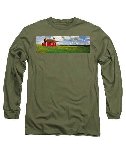 Small Red Schoolhouse, Battle Lake Long Sleeve T-Shirt