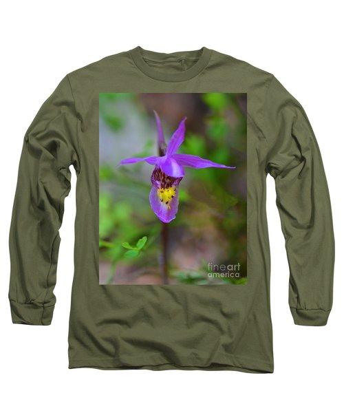 Long Sleeve T-Shirt featuring the digital art Snapdragon by Mae Wertz