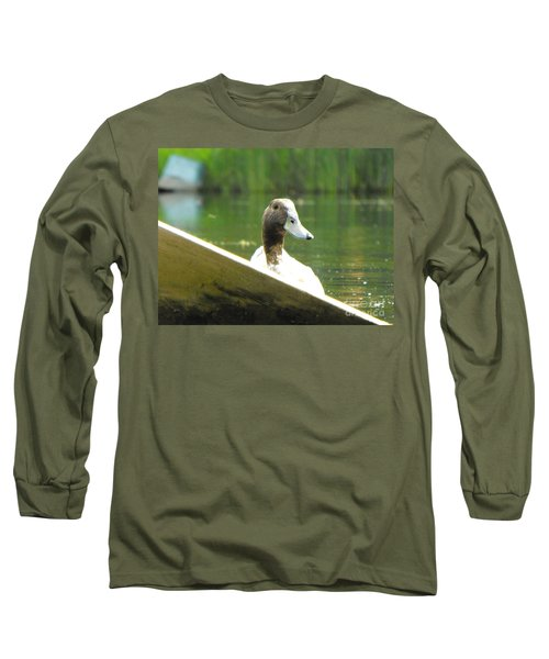 Snooping Duck Long Sleeve T-Shirt