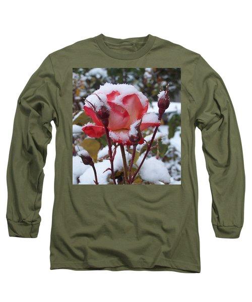 Snow Blooms Long Sleeve T-Shirt