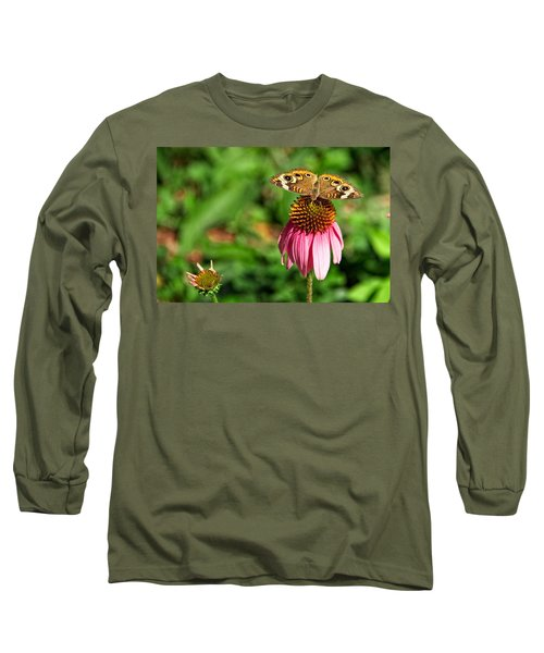 Long Sleeve T-Shirt featuring the photograph Soaking Up The Sun by Dave Files