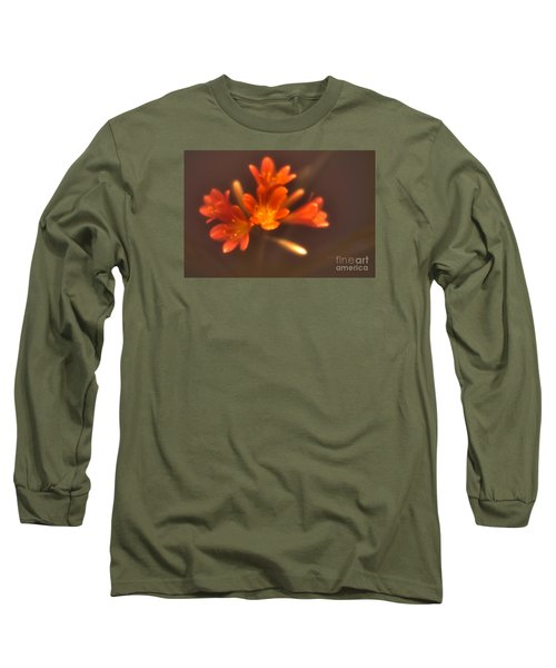Soft Focus Kaffir Lily Long Sleeve T-Shirt