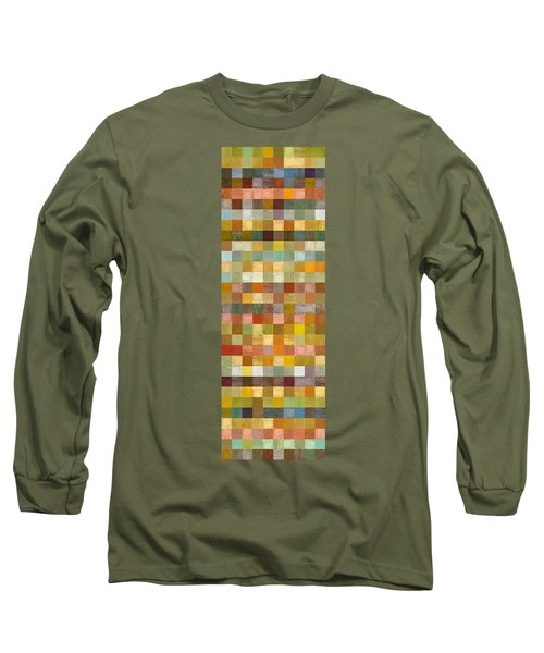 Soft Palette Rustic Wood Series Collage L Long Sleeve T-Shirt