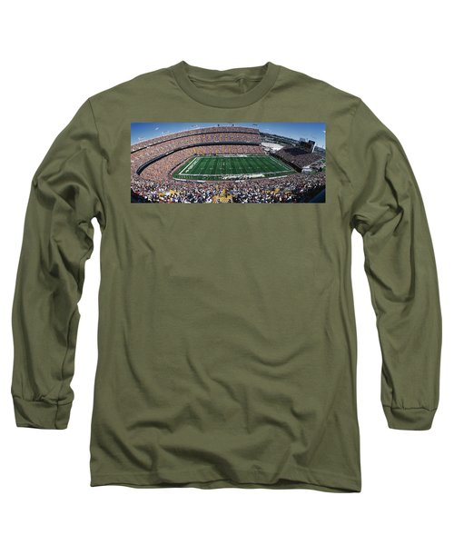 Sold Out Crowd At Mile High Stadium Long Sleeve T-Shirt