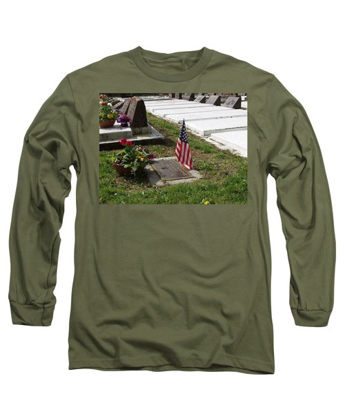 Soldiers Final Resting Place Long Sleeve T-Shirt